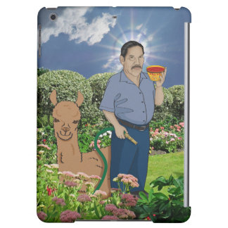 Saint Luis in the Garden iPad Case