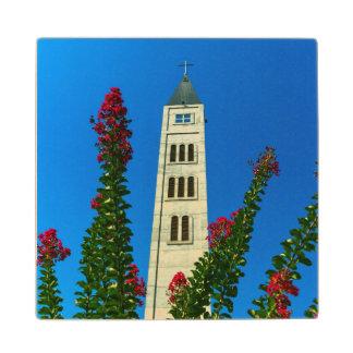 Saint Luke tower in Mostar, Bosnia and Herzegovina Wood Coaster