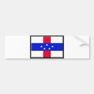 Saint Maarten Flag Bumper Sticker