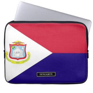 Saint Maarten Flag Laptop Computer Sleeves