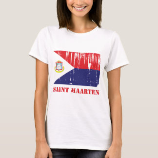 Saint Maarten Flag T-Shirt