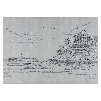 Saint-Malo, Saint-Enogat | Dinard, Brittany Cutting Board