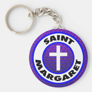 Saint Margaret Key Ring