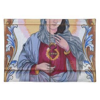 Saint Maria in catholic church Placemat