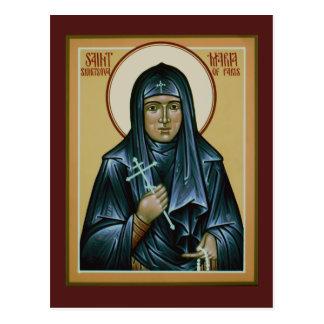 Saint Maria of Paris Prayer Card
