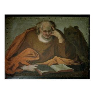 Saint Mark the Evangelist, 1588 Postcard