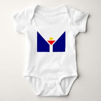 saint-martin-Flag Baby Bodysuit