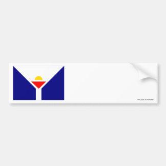 Saint Martin Flag Bumper Stickers