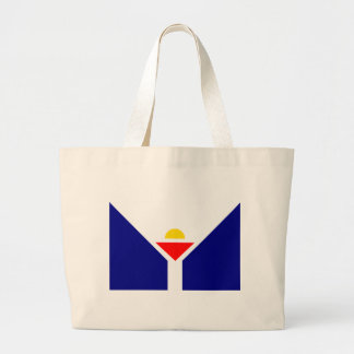 saint-martin-Flag Large Tote Bag