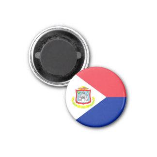 Saint Martin Flag Magnet