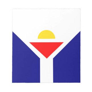 saint-martin-Flag Notepad