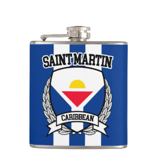 Saint Martin Hip Flask