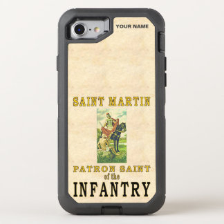 SAINT MARTIN (Patron Saint of the Infantry) OtterBox Defender iPhone 8/7 Case