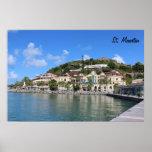 Saint Martin (St. Maarten) Coast photo Posters