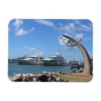Saint Martin Yachts photo Rectangular Photo Magnet