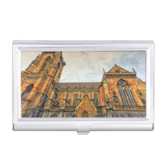 Saint Martin's Church, Colmar, France Business Card Holder