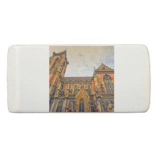 Saint Martin's Church, Colmar, France Eraser