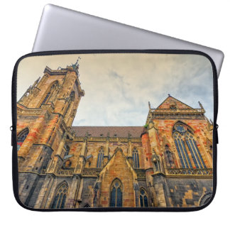 Saint Martin's Church, Colmar, France Laptop Sleeve
