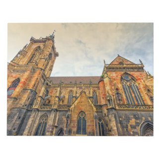 Saint Martin's Church, Colmar, France Notepad