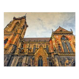 Saint Martin's Church, Colmar, France Postcard
