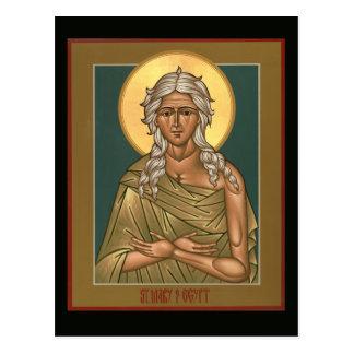 Saint Mary of Egypt Prayer Card Postcard