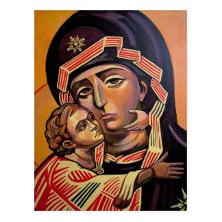 Saint Mary Teotokos Postcard