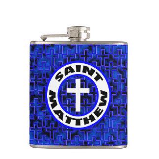 Saint Matthew Hip Flask
