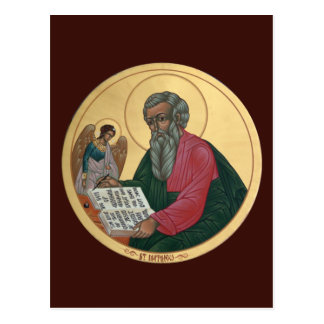 Saint Matthew Prayer Card