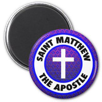 Saint Matthew the Apostle 6 Cm Round Magnet