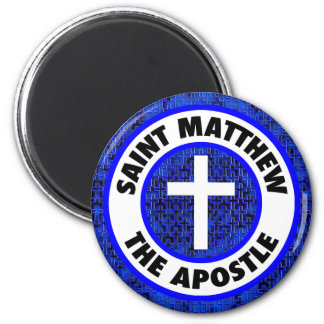 Saint Matthew the Apostle 6 Cm Round Magnet