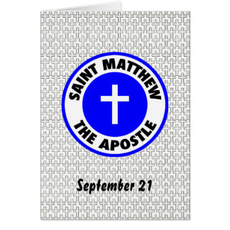 Saint Matthew the Apostle Cards