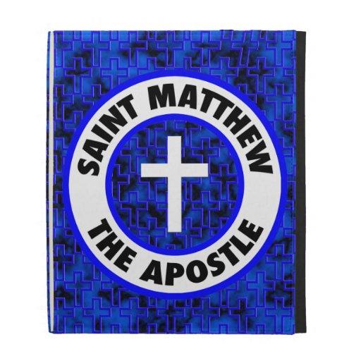 Saint Matthew the Apostle iPad Cases