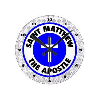 Saint Matthew the Apostle Wallclocks