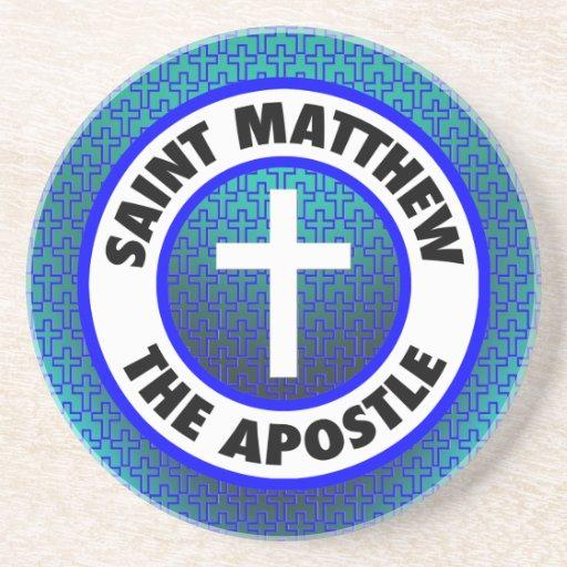 Saint Matthew the Apostle Beverage Coaster