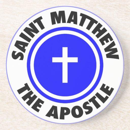 Saint Matthew the Apostle Drink Coaster