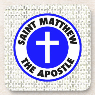 Saint Matthew the Apostle Coasters