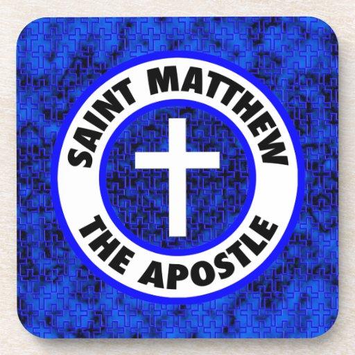 Saint Matthew the Apostle Beverage Coasters