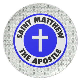 Saint Matthew the Apostle Dinner Plates