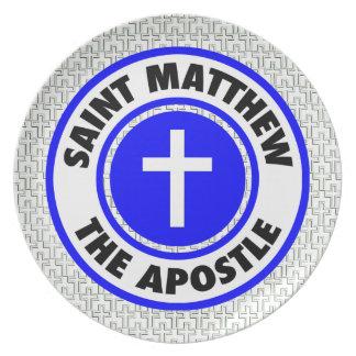Saint Matthew the Apostle Dinner Plates