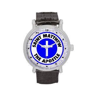 Saint Matthew the Apostle Wrist Watches