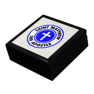 Saint Matthew the Apostle Trinket Boxes