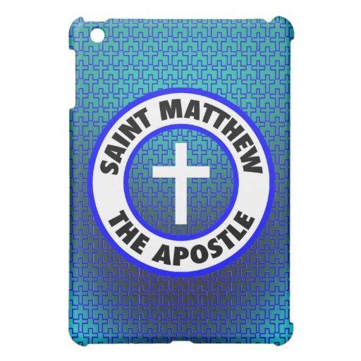 Saint Matthew the Apostle iPad Mini Cases