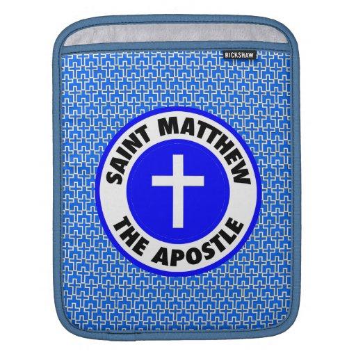Saint Matthew the Apostle Sleeves For iPads