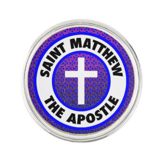 Saint Matthew the Apostle Lapel Pin