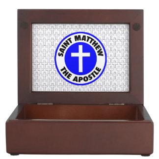 Saint Matthew the Apostle Memory Box