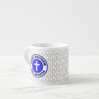 Saint Matthew the Apostle 6 Oz Ceramic Espresso Cup
