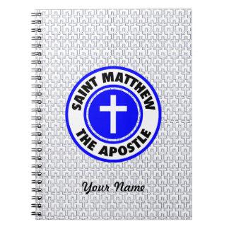 Saint Matthew the Apostle Spiral Notebooks