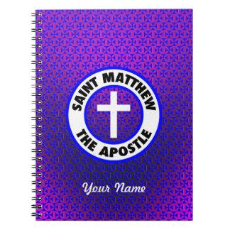 Saint Matthew the Apostle Note Book