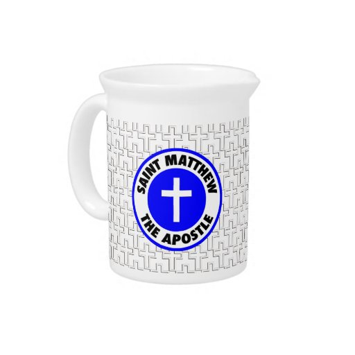 Saint Matthew the Apostle Drink Pitchers