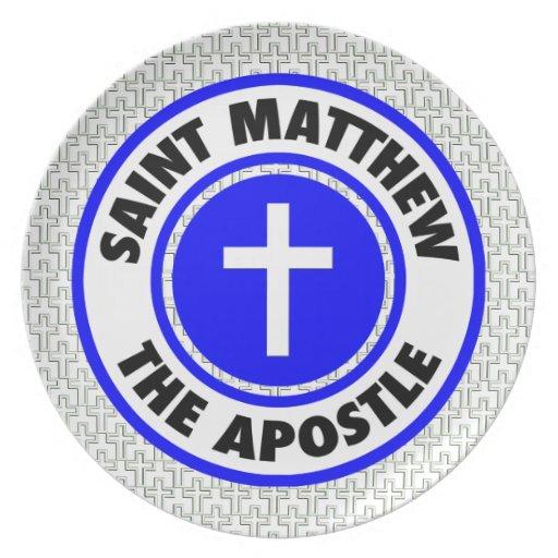 Saint Matthew the Apostle Dinner Plate